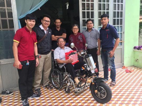 ĐH Duy Tân chế tạo xe lăn điện cho người khuyết tật Đà Nẵng - Ảnh 6.