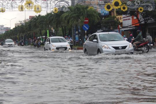 Bạc Liêu, Cà Mau ngập kỷ lục do ảnh hưởng bão số 1 - Ảnh 1.