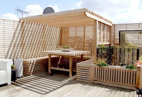 Những thiết kế vườn trên sân thượng đẹp mát mắt - Ảnh 1.