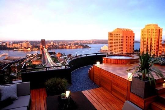 Những thiết kế vườn trên sân thượng đẹp mát mắt - Ảnh 3.