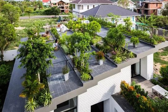 Những thiết kế vườn trên sân thượng đẹp mát mắt - Ảnh 4.