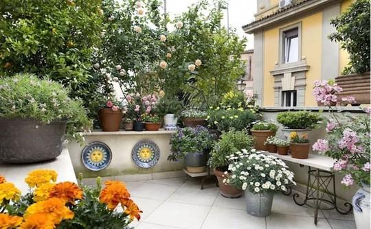 Những thiết kế vườn trên sân thượng đẹp mát mắt - Ảnh 8.
