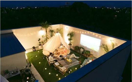 Những thiết kế vườn trên sân thượng đẹp mát mắt - Ảnh 10.