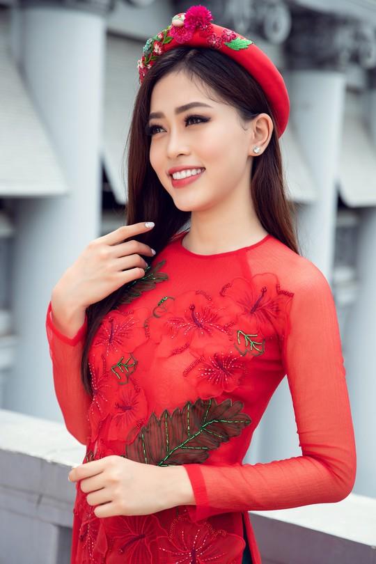 Ngất ngây với vẻ đẹp của top 3 hoa hậu Việt Nam 2018 - Ảnh 8.