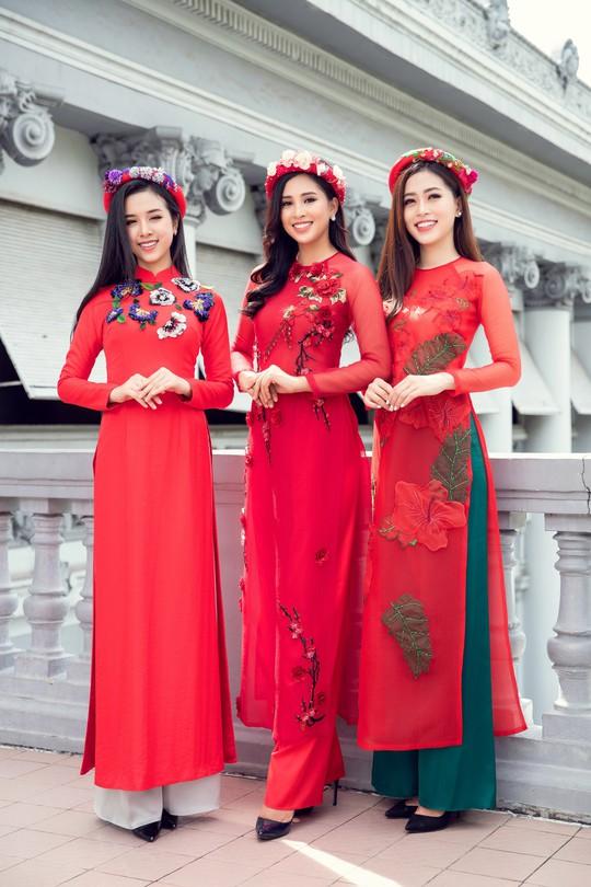 Ngất ngây với vẻ đẹp của top 3 hoa hậu Việt Nam 2018 - Ảnh 4.