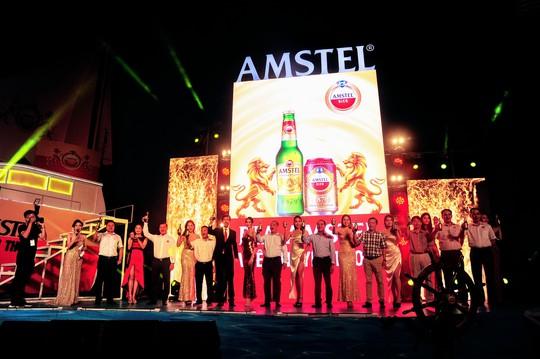 Bia Amstel của Hà Lan tiếp cận thị trường ĐBSCL - Ảnh 1.