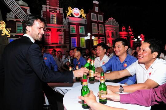 Bia Amstel của Hà Lan tiếp cận thị trường ĐBSCL - Ảnh 2.