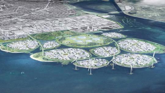 Đan Mạch xây Thung lũng Silicon châu Âu trên 9 đảo nhân tạo - Ảnh 1.