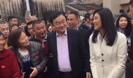 Ông Thaksin và bà Yingluck về thăm tổ tiên ở Trung Quốc - Ảnh 2.