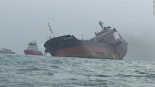 Tàu chở dầu treo cờ Việt Nam phát nổ sau khi rời Trung Quốc - Ảnh 2.