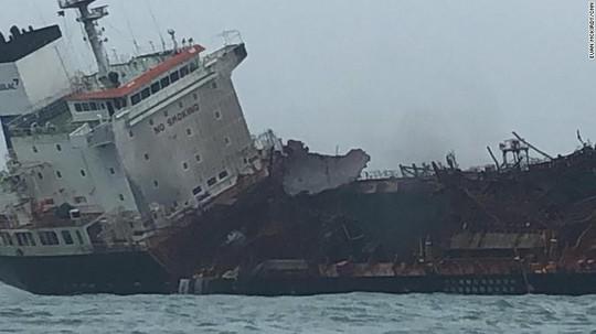 Tàu chở dầu treo cờ Việt Nam phát nổ sau khi rời Trung Quốc - Ảnh 3.