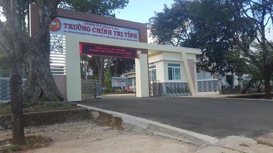 Trường Chính trị Gia Lai bị trộm nửa tỉ đồng - Ảnh 1.