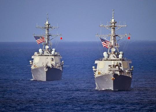 Việt Nam lên tiếng việc tàu khu trục Mỹ tuần tra sát Hoàng Sa - ảnh 1