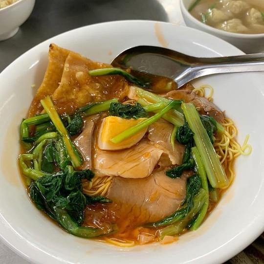 5 địa chỉ ăn mì vằn thắn ngon cho ngày se lạnh ở Hà Nội - Ảnh 1.
