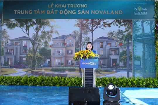 Novaland khai trương trung tâm bất động sản - Ảnh 1.