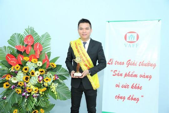 """Herbalife Việt Nam nhận giải thưởng """"Sản phẩm vàng vì sức khỏe cộng đồng"""" năm 2019 - Ảnh 1."""
