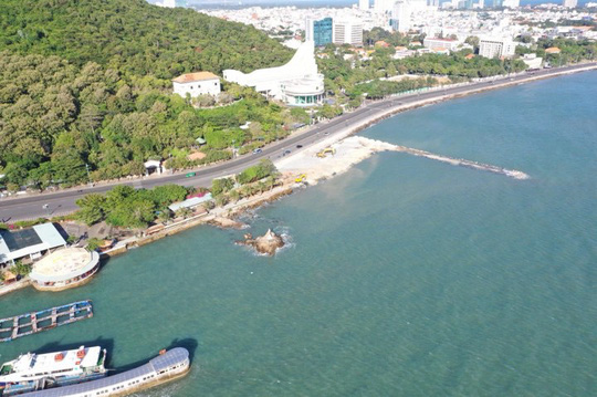 Choáng với dự án độc chiếm 1 phần bãi biển Vũng Tàu nhìn từ trên cao - Ảnh 2.