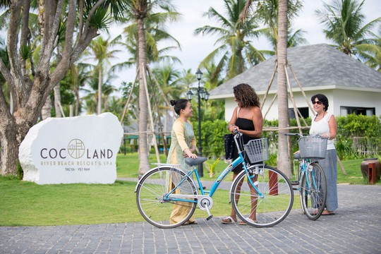 Resort 4 sao đầu tiên tại Quảng Ngãi thắng giải Resort xanh và thân thiện với môi trường - Ảnh 1.