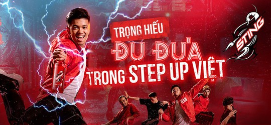 Đu đưa cùng Trọng Hiếu trong Step Up Việt - Ảnh 1.