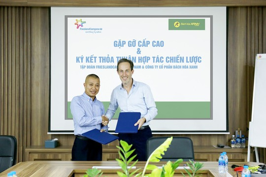 CEO Toàn cầu Tập đoàn FrieslandCampina: Tôi ấn tượng về mô hình kinh doanh của Bách hóa Xanh - Ảnh 3.