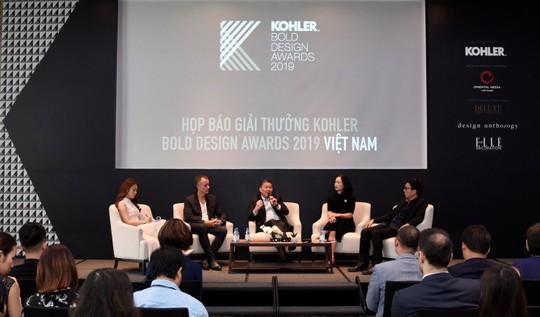"""Kohler ra mắt giải thưởng """"KOHLER Bold Design Awards"""" lần đầu tiên tại Việt Nam - Ảnh 1."""