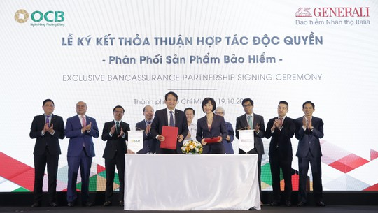 Generali Việt Nam và OCB công bố hợp tác độc quyền 15 năm - Ảnh 1.