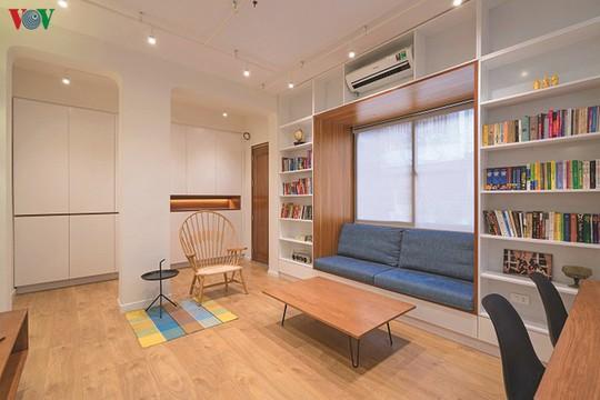 Cải tạo căn hộ cũ thành không gian sống đẹp - Ảnh 2.