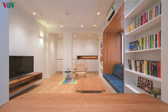 Cải tạo căn hộ cũ thành không gian sống đẹp - Ảnh 3.
