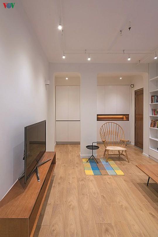 Cải tạo căn hộ cũ thành không gian sống đẹp - Ảnh 4.