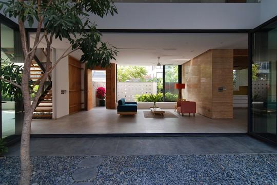 Ngôi nhà tại TP HCM sở hữu không gian đẹp từ ngoài vào trong - Ảnh 4.