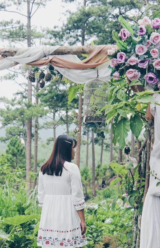 Vườn cổ tích giữa lòng Đà Lạt - Ảnh 3.