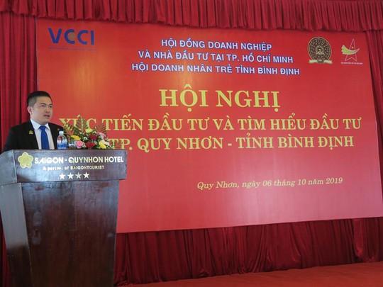 Phó Chủ tịch HBC - VCCI Đỗ Trùng Dương tham dự hội nghị xúc tiến thương mại tại Bình Định - Ảnh 2.
