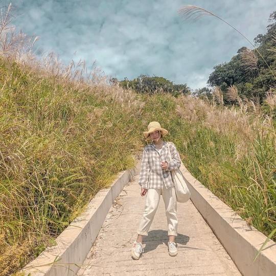 Giới trẻ khoe ảnh với đồng cỏ lau trắng dịp cuối thu ở Bình Liêu - Ảnh 1.
