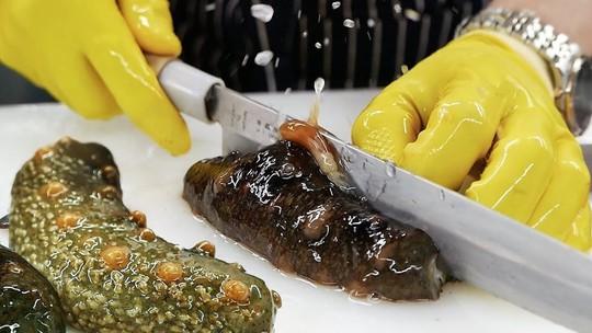 Cách ăn sống đỉa biển trứ danh của người Hàn Quốc - Ảnh 6.