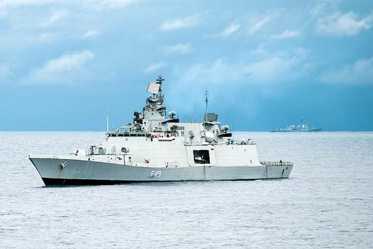 Tàu hải quân Ấn Độ sắp thăm Việt Nam - Ảnh 1.