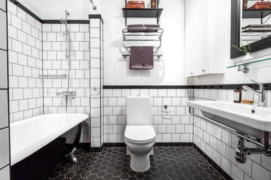 Tận dụng trần cao, thiết kế thêm gác lửng cho căn hộ siêu xinh - Ảnh 13.