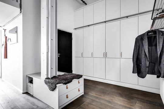 Tận dụng trần cao, thiết kế thêm gác lửng cho căn hộ siêu xinh - Ảnh 18.