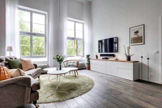 Tận dụng trần cao, thiết kế thêm gác lửng cho căn hộ siêu xinh - Ảnh 5.