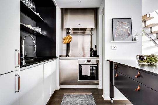 Tận dụng trần cao, thiết kế thêm gác lửng cho căn hộ siêu xinh - Ảnh 6.