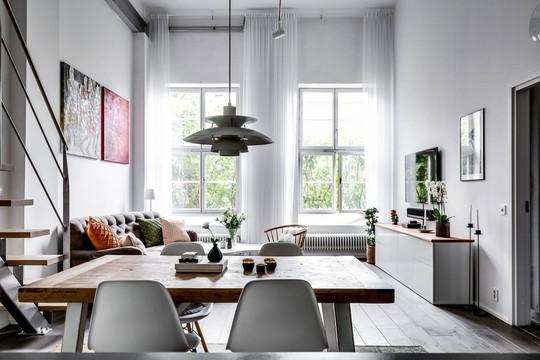 Tận dụng trần cao, thiết kế thêm gác lửng cho căn hộ siêu xinh - Ảnh 9.