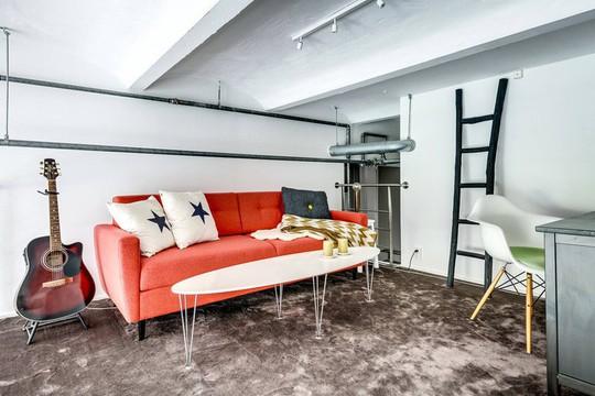 Tận dụng trần cao, thiết kế thêm gác lửng cho căn hộ siêu xinh - Ảnh 10.