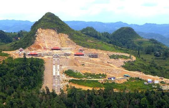 Bộ VH-TT-DL lên tiếng về công trình tâm linh khủng tại Hà Giang - Ảnh 1.