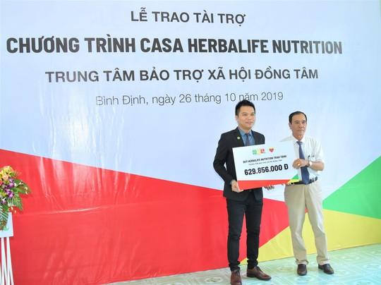 Quỹ Herbalife Nutrition công bố hỗ trợ dinh dưỡng năm thứ 7 cho trẻ tại Trung tâm Bảo trợ Xã hội Đồng Tâm - Ảnh 1.