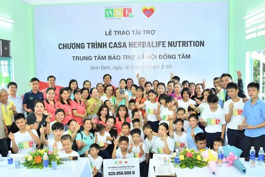 Quỹ Herbalife Nutrition công bố hỗ trợ dinh dưỡng năm thứ 7 cho trẻ tại Trung tâm Bảo trợ Xã hội Đồng Tâm - Ảnh 2.