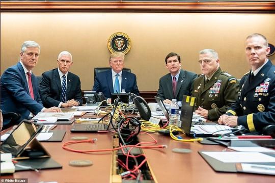 Ông Trump kể tất tần tật về sứ mệnh tiêu diệt thủ lĩnh tối cao IS - Ảnh 4.
