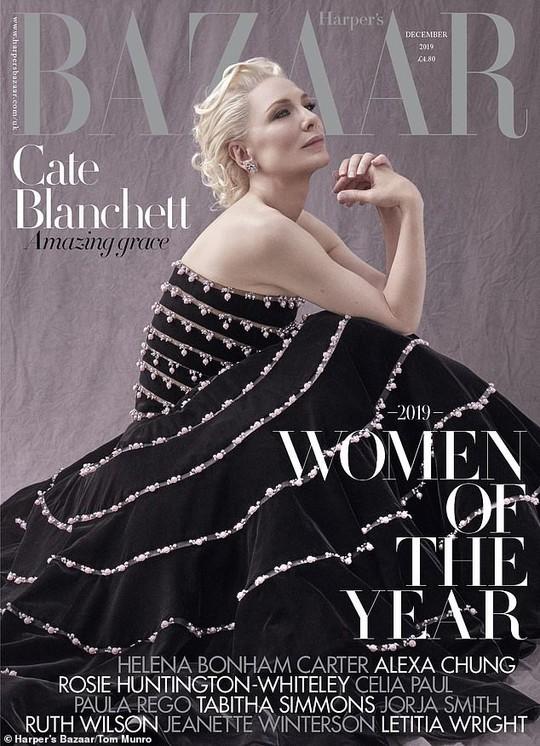 Cate Blanchett quyến rũ ở tuổi 50 - Ảnh 3.