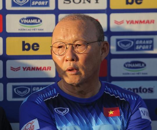 HLV Park Hang-seo: Chấn thương của Đình Trọng đã tốt hơn - Ảnh 2.