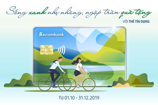Nhiều ưu đãi cho thẻ tín dụng Sacombank - Ảnh 1.