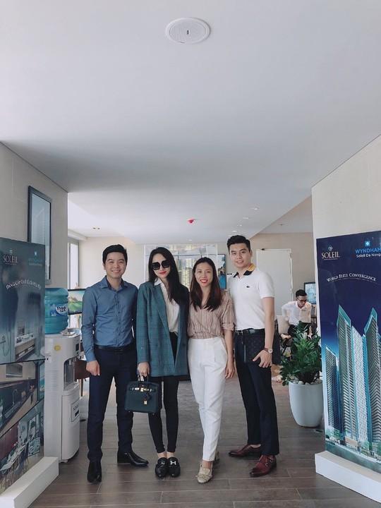 Mua căn hộ tại dự án sang chảnh, Hoa hậu Hương Giang thành nhà đầu tư chuyên nghiệp - Ảnh 2.