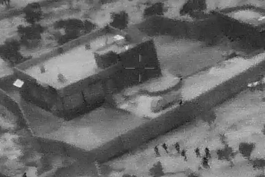 Mỹ công bố hình ảnh cuộc đột kích tiêu diệt thủ lĩnh tối cao IS - Ảnh 1.
